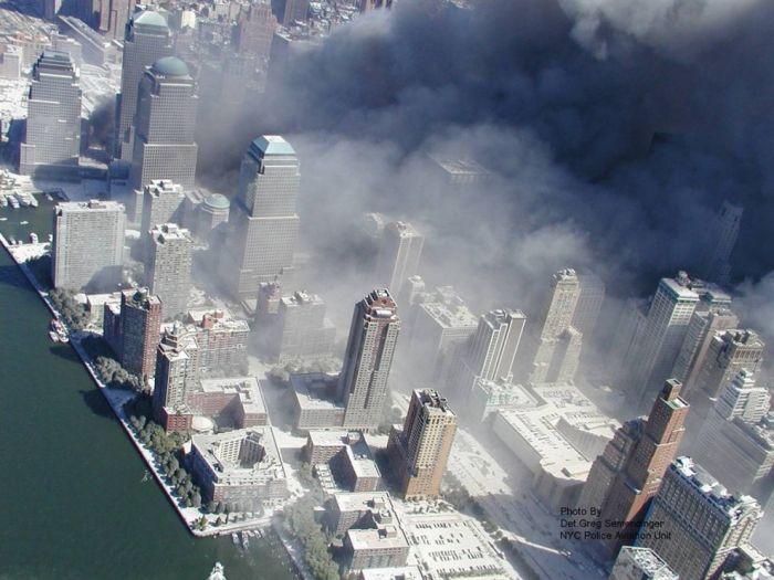 Новые фотографии теракта 11 сентября (12 фото)