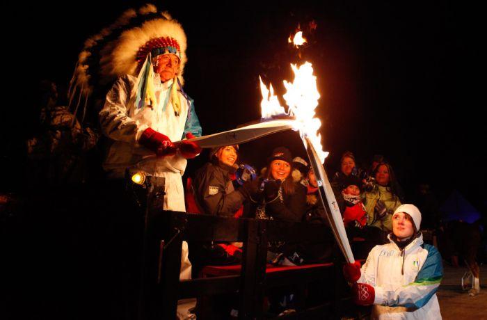 Олимпийский огонь (42 фото)