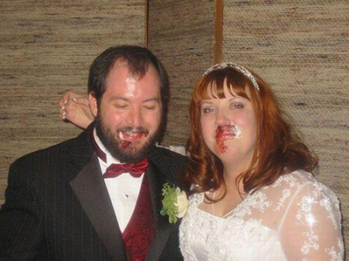 Свадебные фото странные