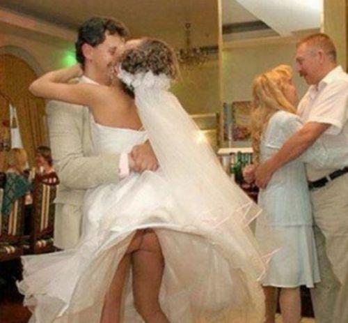 Странные свадебные фотографии (35 фото)