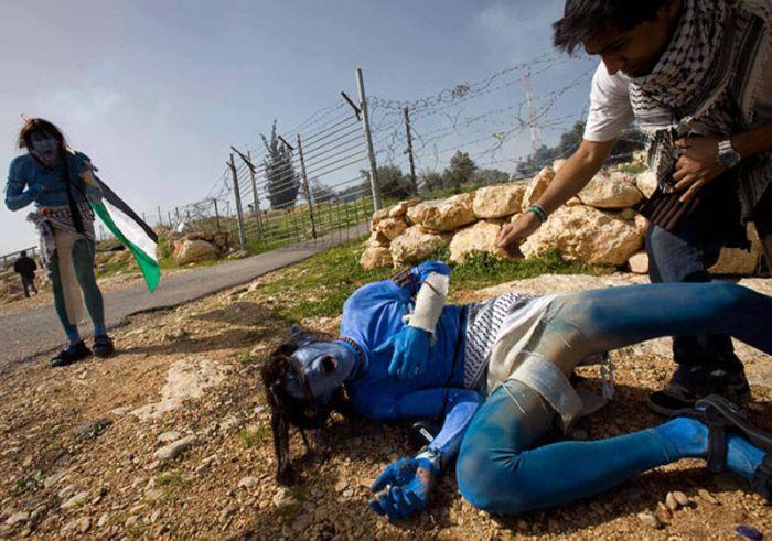 Израильские демонстранты (12 фото)