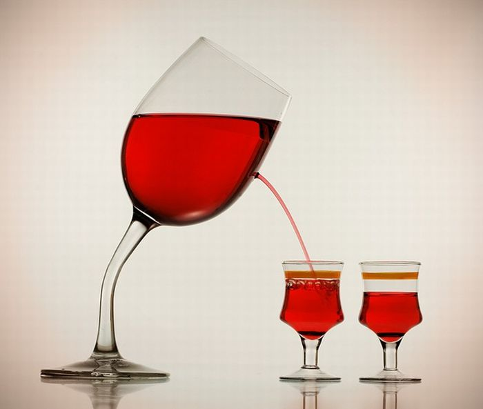 Бокал и вино (20 фото)