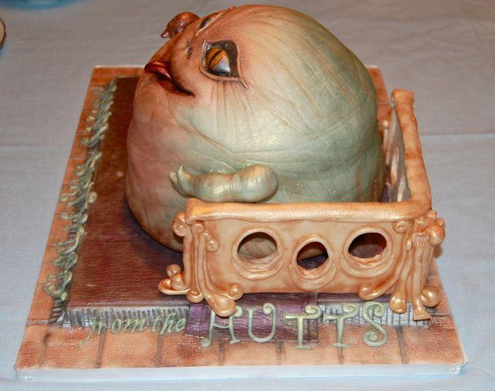 Классный праздничный Джабба-торт (6 фото)