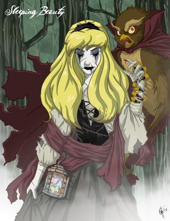 Страшные сказочные персонажи (11 фото)
