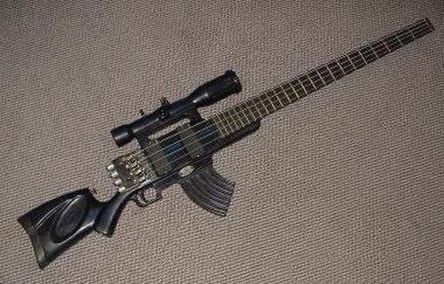 Необычные гитары (25 фото)