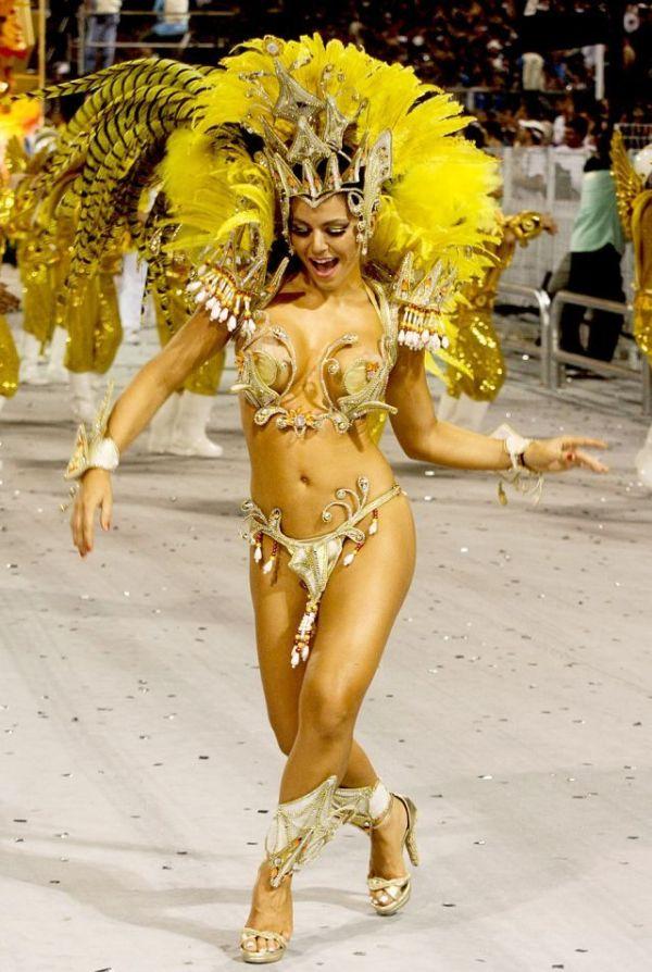 Голая и развратная бразильский карнавал — photo 15