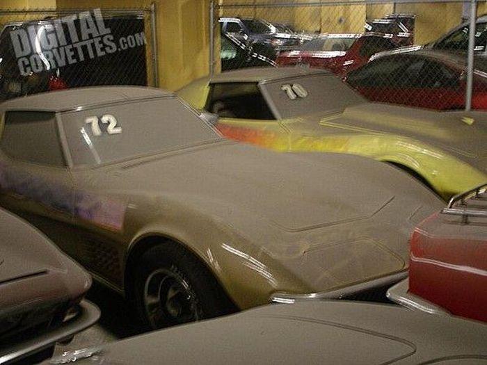 Заброшенные автомобили Corvette (37 фото)