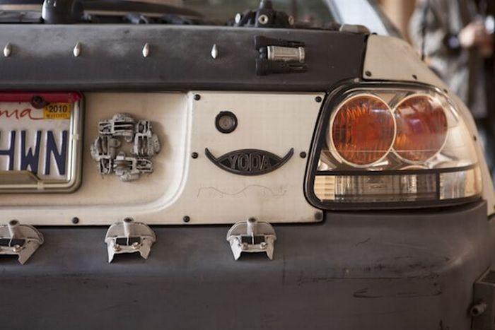Машина для Йоды (7 фото)