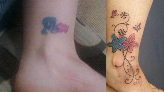 Что скрывает татуировка? (18 фото)