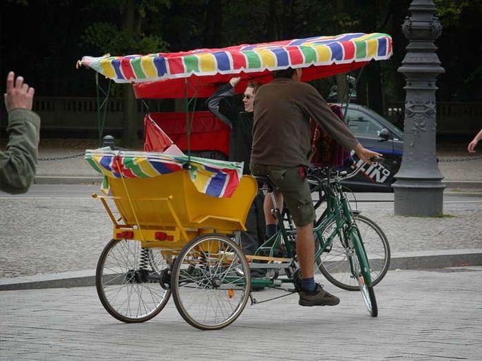 Забавные такси со всего мира (14 фото)