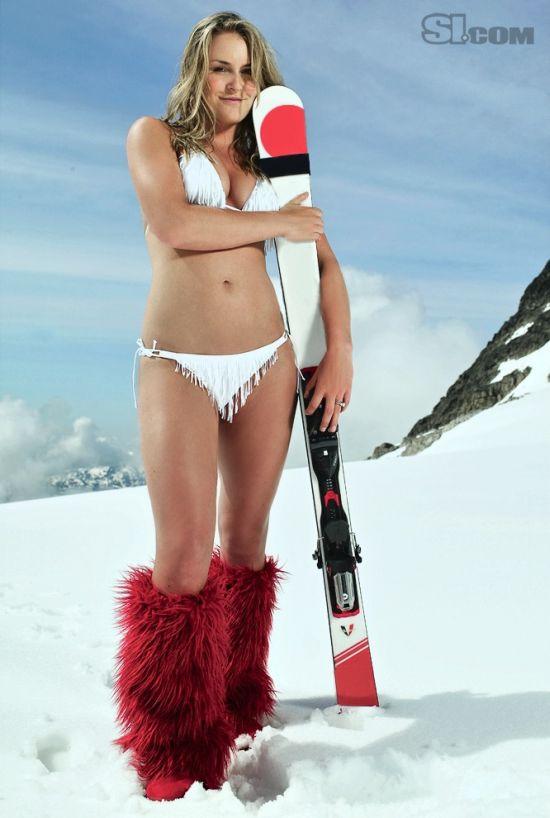 Золотая медалистка Линдсей Вонн (28 фото)