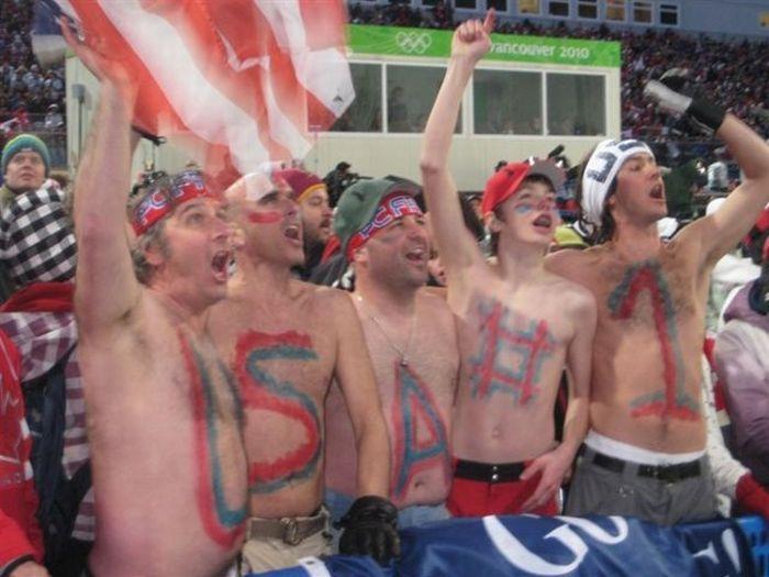 Фанаты на Олимпиаде (37 фото)