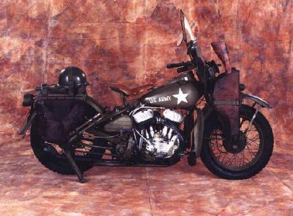 Старые мотоциклы (16 фото)