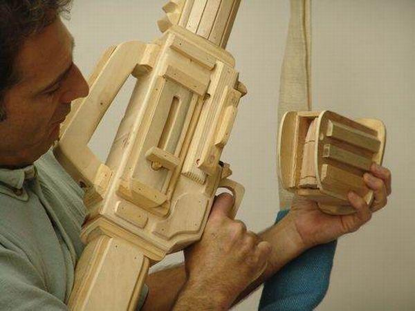 Классные поделки из дерева (34 фото)