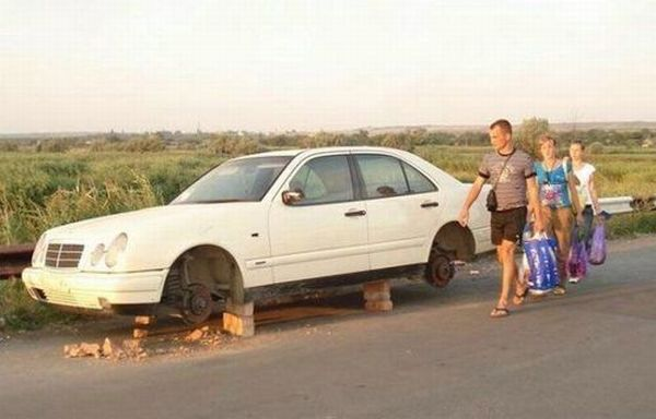 Странные аварии (40 фото)