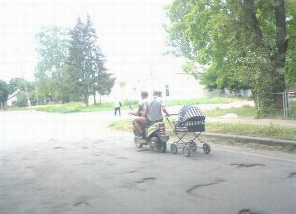 И куда только смотрят родители?) (46 фото)