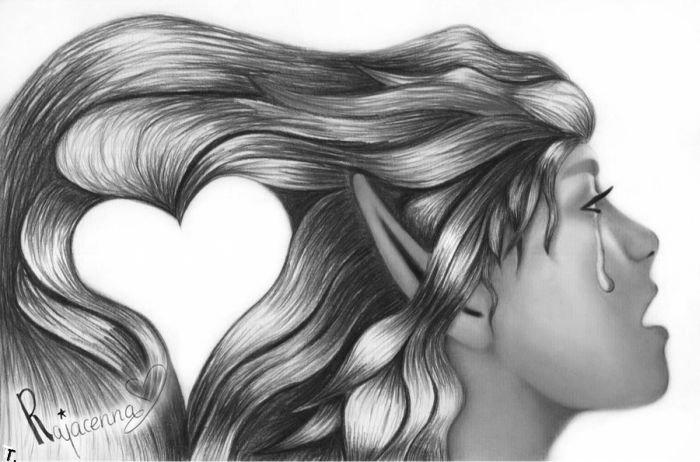 Симпатичные рисунки карандашом (20 фото)