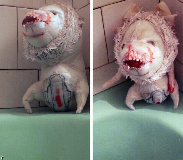 Смешные и странные игрушки (43 фото)