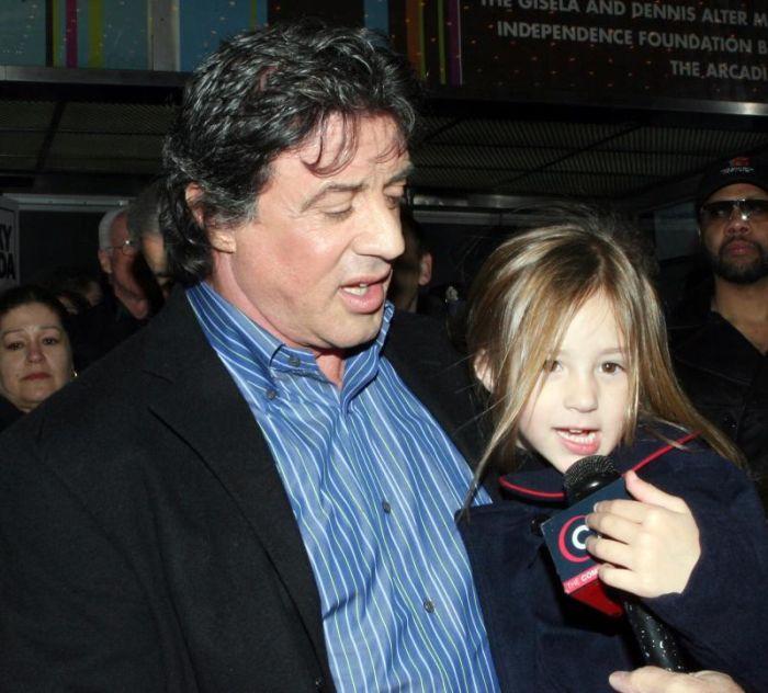 Дети знаменитостей (66 фото)