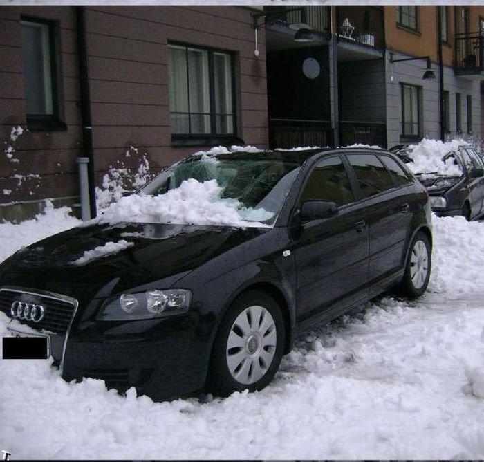Страшный сон автовладельца (12 фото)