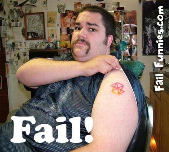 Худшие татуировки (76 фото)