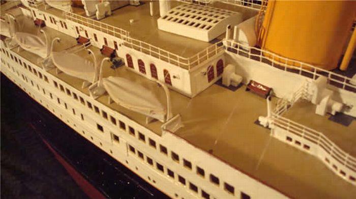 Модели кораблей из бумаги титаник