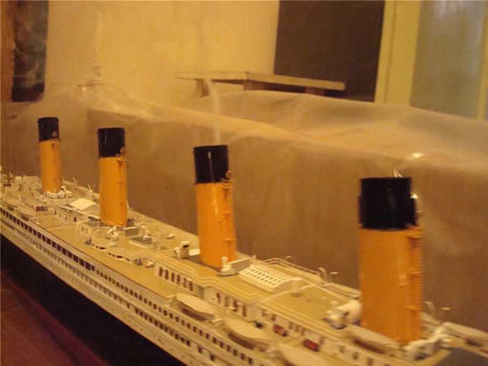Бумажная модель Титаника (22 фото)