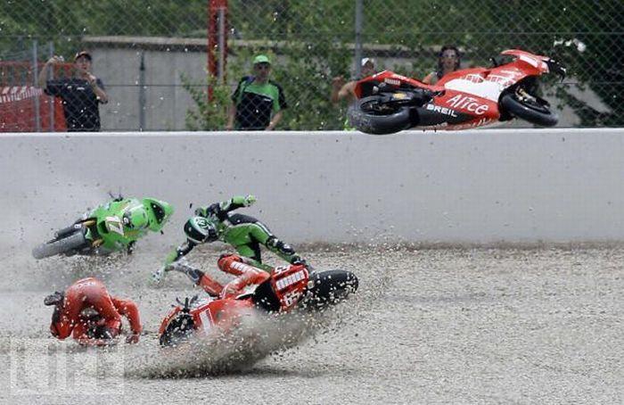 аварии мотоцикл: