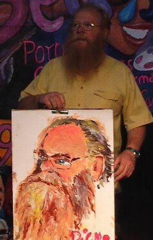 Люди и их портреты пенисом (40 фото)