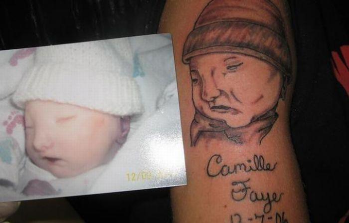 Худшие детские татуировки в мире (11 фото)
