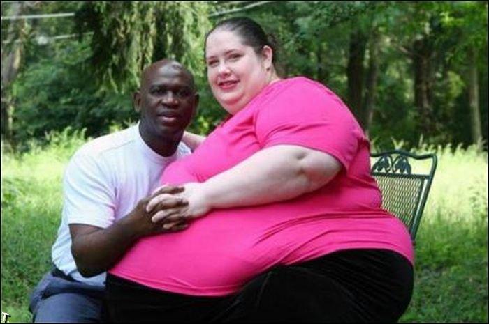 Самая толстая женщина в мире.