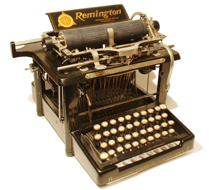 Старые печатные машинки (51 фото)