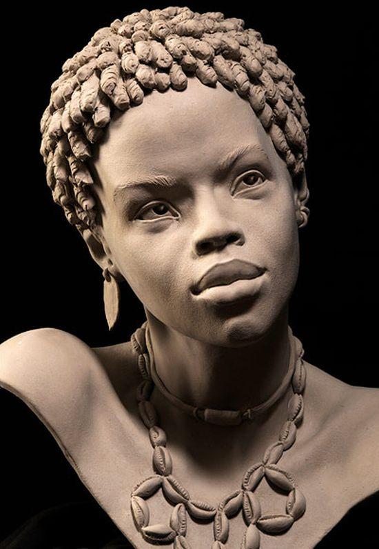 Скульптуры-портреты (30 фото)
