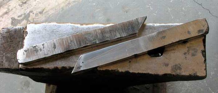 Как создаются японские ножи (57 фото)