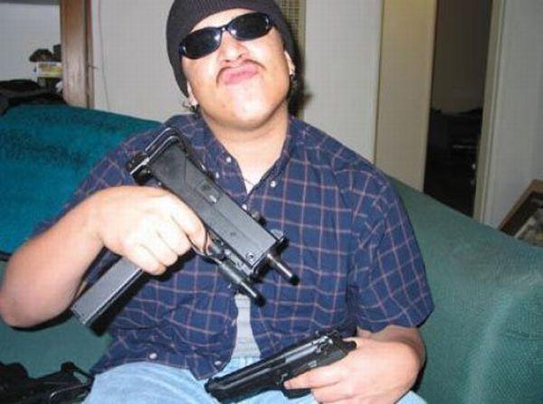 Смешные интернет-гангстеры (45 фото)