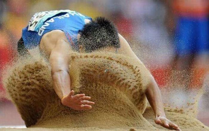 Смешные спортивные фотографии (47 фото)