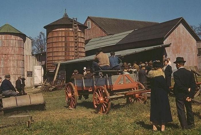 Жизнь  в США в первой половине 20го века (61 фото)