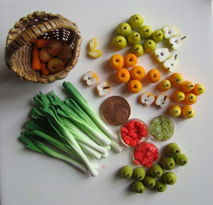 Еда в масштабе  1:12 (100 фото)