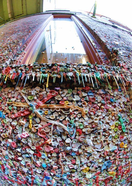 Стена из жвачек в Сиэтле (12 картинок)