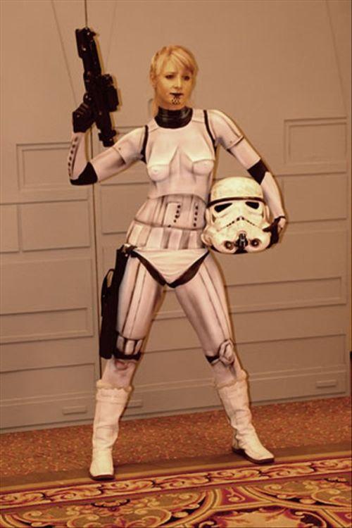 Симпатичные пехотинцы из Звездных воин (25 фото)