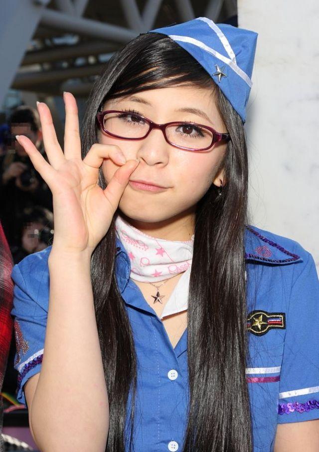 Симпатичные японские косплейщицы (65 фото)