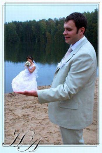 Странные свадебные фотографии (21 фото)