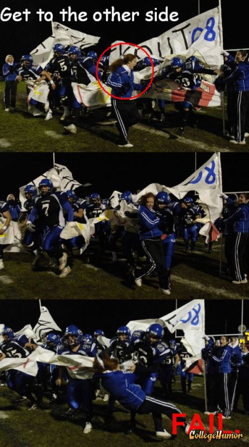Жесть американского футбола (27 фото)