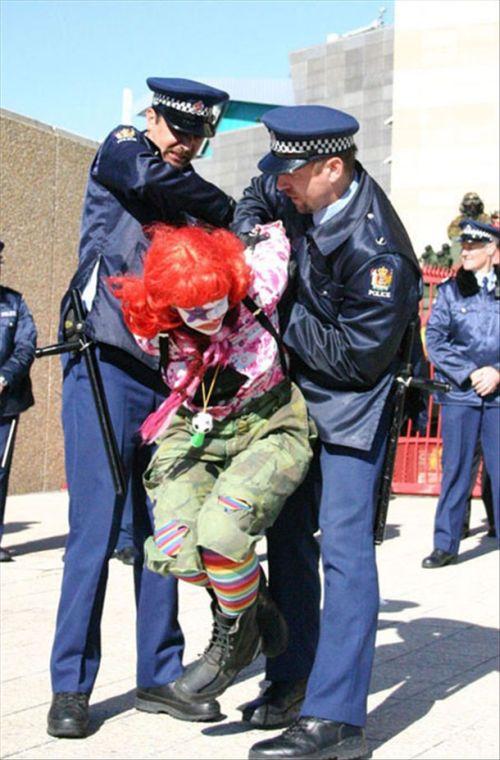 Забавные аресты (20 фото)