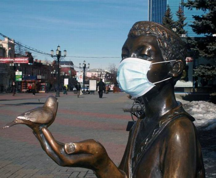 Птичий грипп.