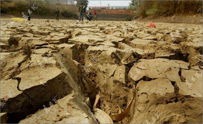 Засуха в Китае (36 фото)