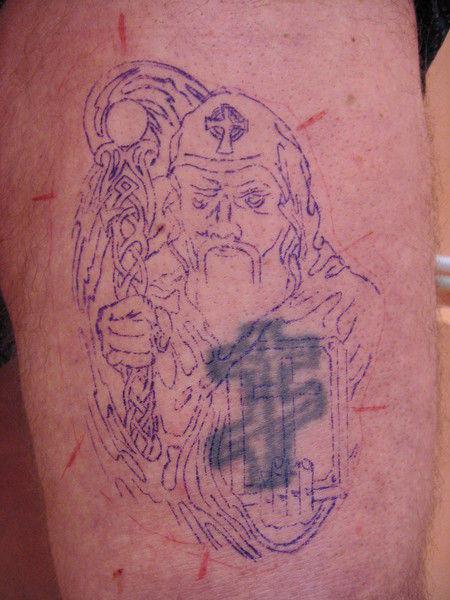 Татуировки до и после завершения (28 фото)