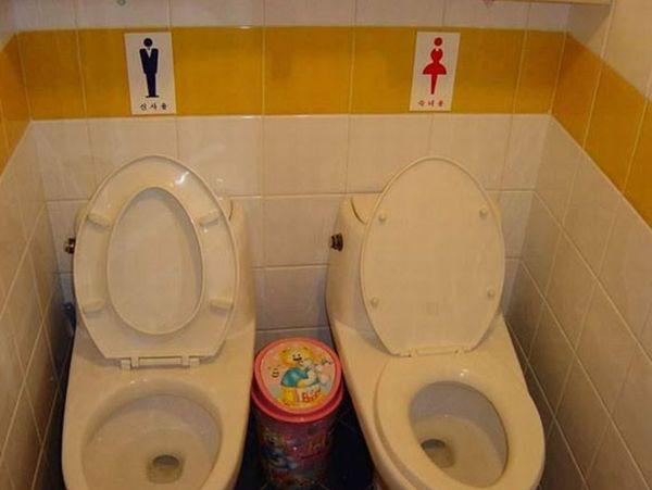 Смешные и странные туалеты (99 фото)