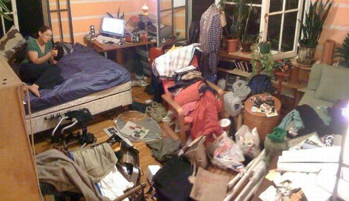 Самые грязные квартиры (35 фото)
