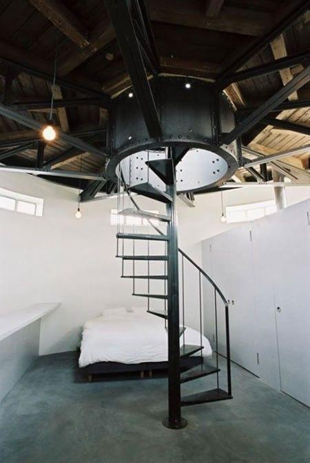 Дом в водонапорной башне (15 фото)